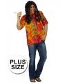 Grote maat hippie overhemd