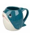Blauwe haai koffiemok