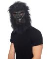 Zwart apen masker voor volwassenen