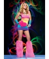 Leg Avenue regenboog jurkje
