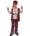 Hippie verkleedoutfit jongens
