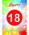 18 jaar verjaardag poster