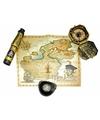 Piraten kinderfeestje schatzoeken set
