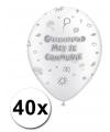 Communieversiering ballonnen 40 x