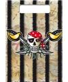 Piraten uitdeelzakjes 8x