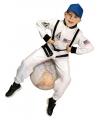 Wit astronauten pak voor kinderen