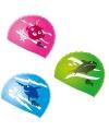 Gekleurde badmuts voor kinderen