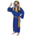 Blauw kerst kostuum Drie Koningen