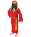 Rood kerst kostuum Drie Koningen
