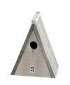 Houten driehoek vogelhuisje 23 cm