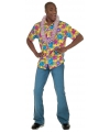 Geel Hawaii overhemd voor heren