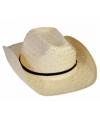 Gevlochten stro hoed