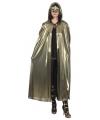 Gouden cape voor volwassenen