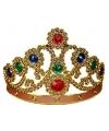 Leuke koninginnenkroon in het goud