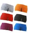 Gebreide hoofdband voor volwassenen