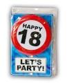 Verjaardagskaart 18 jaar