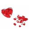 Doosje hartjes confetti voor in bad