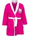Hello Kitty badjas fuchsia voor meiden