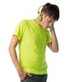 Neon gele t-shirts heren