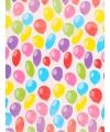 Verjaardagscadeau inpakpapier ballonnen 70 x 200 cm