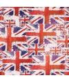 Verjaardagscadeau inpakpapier Union Jack