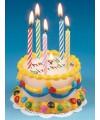 Happy birthday verjaardags taart kaars
