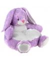 Pluche konijnen stoel 43 cm