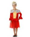 Koninginnen jurkje voor meisjes