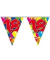 18 jaar vlaggetjes slingers 10 meter