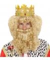 Koningspruik met baard