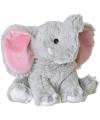 Opwarmbare knuffel olifant