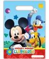 Mickey Mouse feestzakje 6 stuks