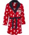 Minnie Mouse badjas rood met zwart