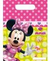 Minnie Mouse snoepzakjes 6 stuks