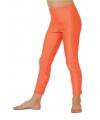 Fel oranje kinder legging