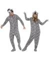 Zebra huispak voor volwassenen