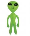 Opblaas alien groen