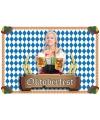 10 Oktoberfest placemats van papier