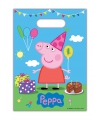 Peppa Big feestzakjes 8 stuks