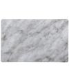 Plastic placemat marmer grijs