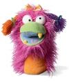 Pluche handpoppen Fuzzy Wuggs Girlie