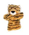 Pluche handpoppen tijger 22 cm