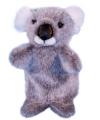 Pluche koala handpoppen 28 cm