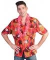 Hawaii blouse met knoopjes