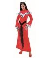 Rode jurk voor dames