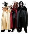 Rode heksen mantel voor volwassenen