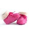 Baby slofjes in roze kleur