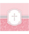Eerste communie servetten roze