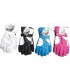 Ski handschoenen in verschillende kleuren