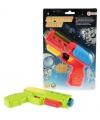 Plastic pistooltje met licht en geluid